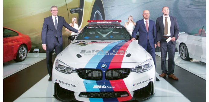 New Bmw M4 Coup Powers Into Mideast