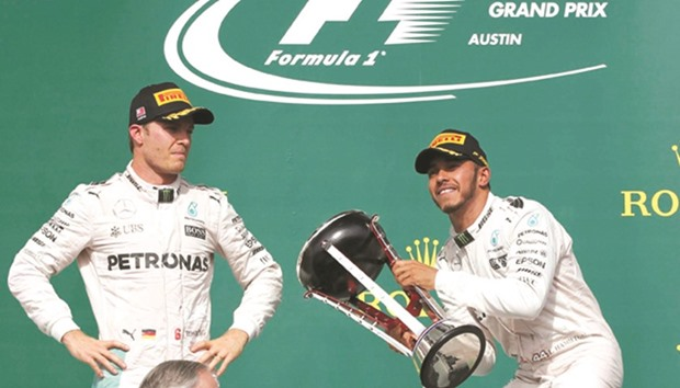 Rosberg blocks out title talk in Mexico