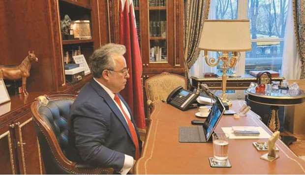 Ambassador of Qatar to France and Permanent Representative of the State of Qatar to the Internationa