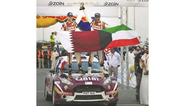 Al-Attiyah confirms record 14th Middle East rally title