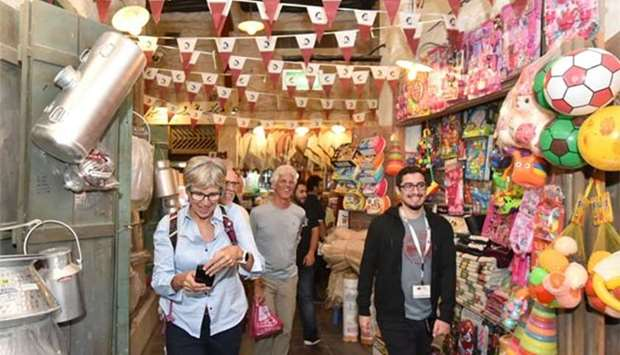 Tours give visitors chance to see Souq Waqif's 'hidden gems'
