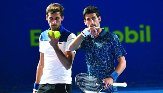 Doubles Delight At Last For Djokovic Brothers