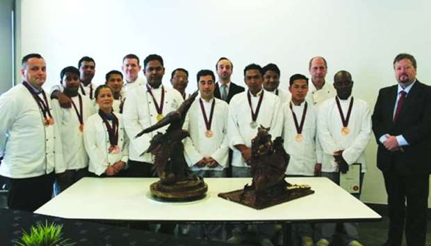 QACC chefs scoop 15 awards at live culinary contest
