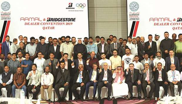 Aamal Trading honours dealers at annual event