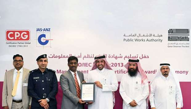 Ashghal certification