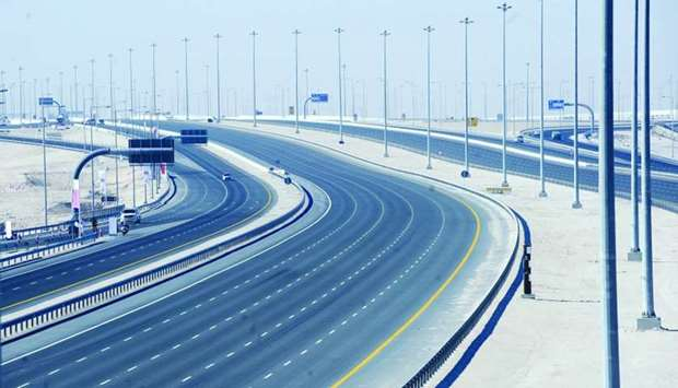 Al Majd Road includes 21 interchanges
