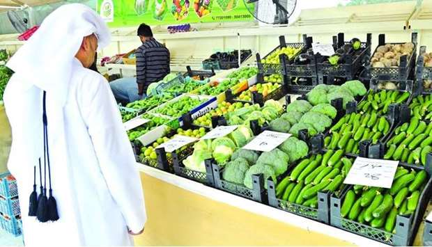 Local vegetable are available in abundance across various outlets, including the dedicated yards.