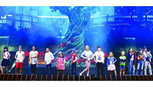 Fashion show at Mall of Qatar attracting large crowds