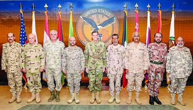 Chief of Staff attends US Central Command meeting