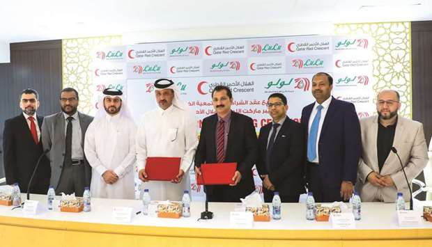 QRCS in funding pact with LuLu Hypermarket – Qatar
