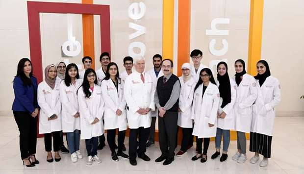 Early glimpse of a doctor's life for WCM-Q students