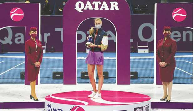 This is Petra Kvitova's second win of the prestigious annual tournament which was held at the state-