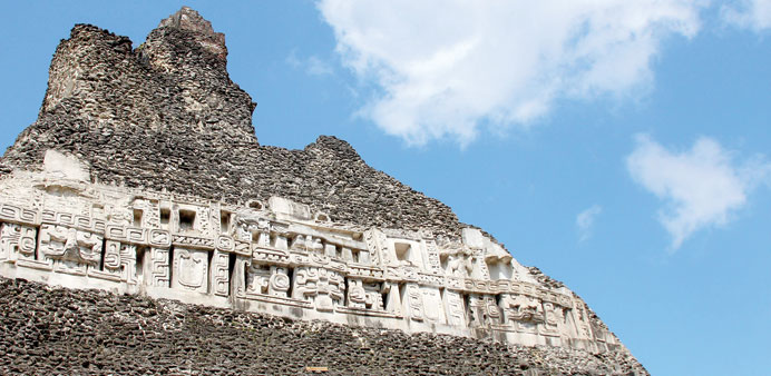In Belize, relics of ancient past