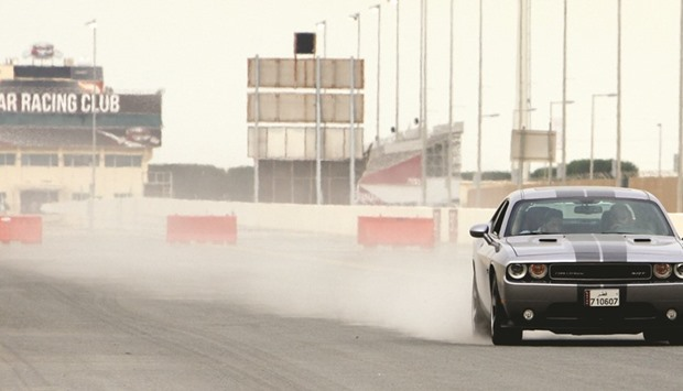 Al Mana Group's 'test drive' showcases speed and power