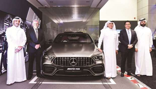 NBK Auto hosts private viewing for new Mercedes-AMG GT 4