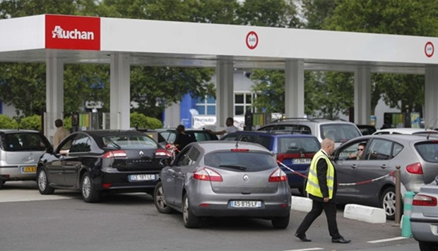 Strikes Bring Shortages In Hundreds Of French Petrol Stations
