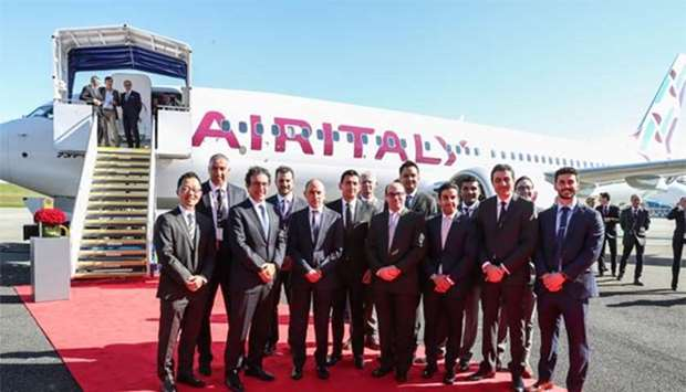 Air Italy unveils Boeing 737 Max in 'striking' new livery