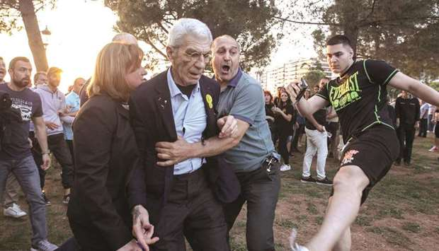 Greek mayor hurt after 'far-right' attack