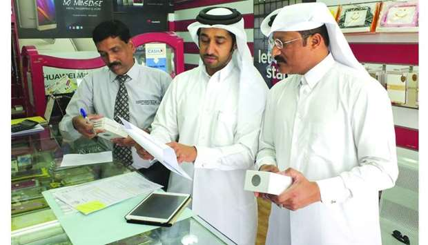 CRA inspection team visit one of the shops.