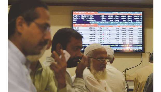 Pakistan Stock Exchange hopes for rise after debacles