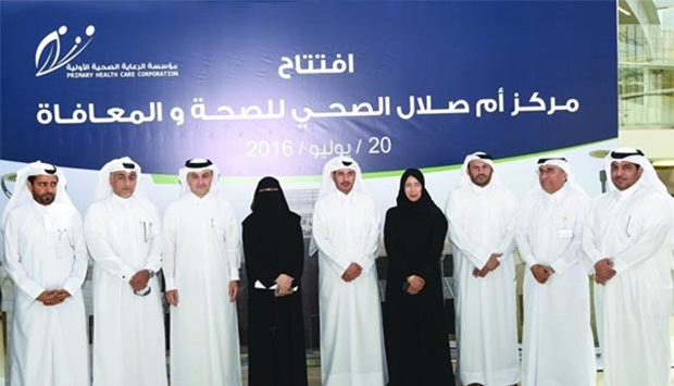 PM opens Umm Salal health and wellness centre