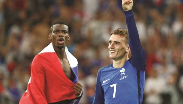 8a61142e8 Paul Pogba (left) was expected to be France s big star at the European  Championship