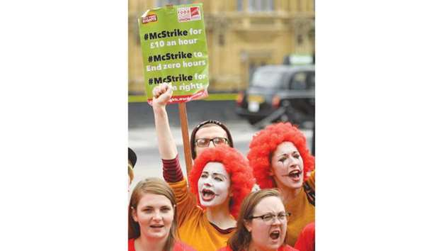 McDonald's workers stage first ever UK strike