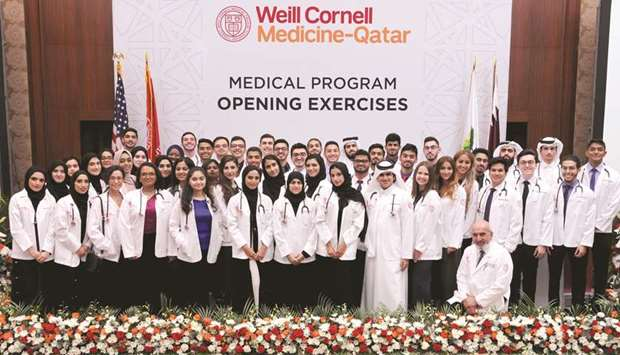 Weill Cornell Medicine – Qatar holds White Coat ceremony for