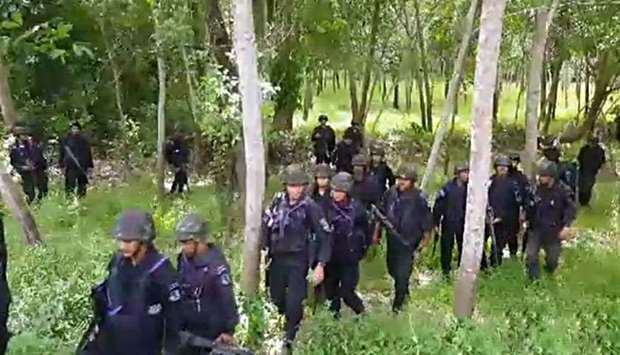 Two army rangers shot dead in Thailand's restive south