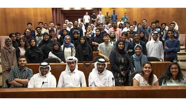 Texas A&M at Qatar hosts largest-ever incoming class