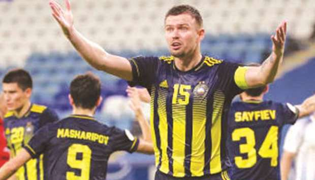 This Is Our Chance Says Pakhtakor S Krimets Ahead Of Clash With Persepolis