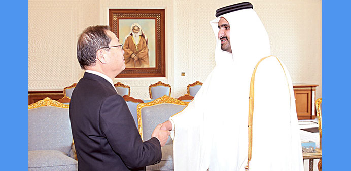 Deputy Emir meets Chubu chief