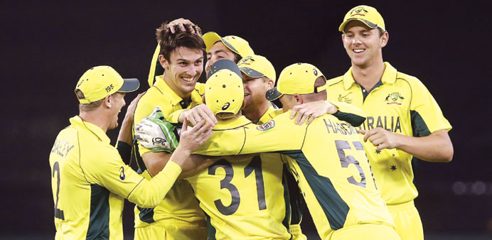 Finch and Marsh star as Aussies hammer England