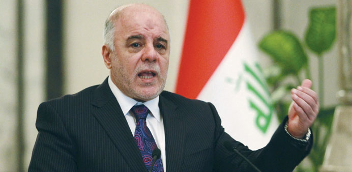 Iraqi PM names new cabinet to fight corruption