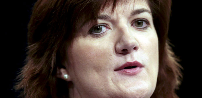 Nicky Morgan: 'changes to policy likely'