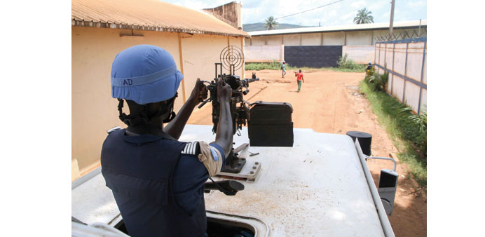 Central Africa seeks tougher mandate for UN force