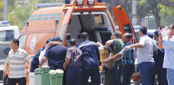 2 police officers killed in blasts near Cairo palace