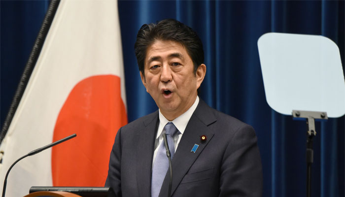 Japan PM expresses WWII remorse, but says next generation need not apologise