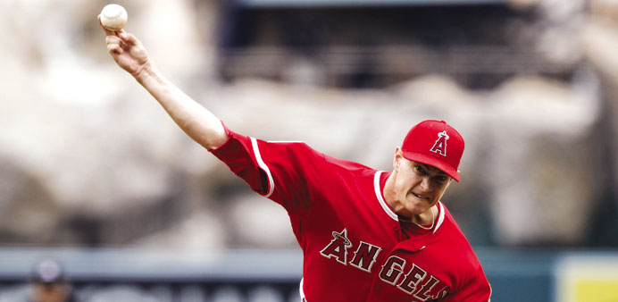 Richards dominant in Angels' 4-2 victory over Seattle Mariners