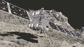 Historic comet mission is over