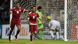 Qatar edge Syria to keep World Cup dream alive