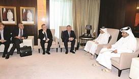 FM meets Russian envoy on Syria