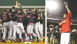 Indians sweep Red Sox in ALDS to end Ortiz's career
