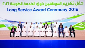 RasGas felicitates 550 long serving employees