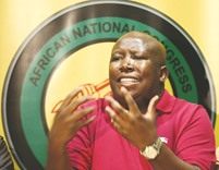 Malema charged over land seizure call