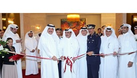 HE the Minister of Transport and Communications Jassim Seif Ahmed al-Sulaiti inaugurating Qatar Tran