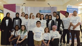 HMC, ALF hold walkathon to promote heart health