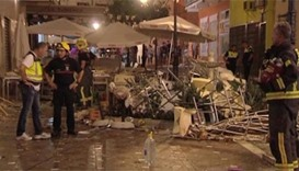 More than 70 injured in Spanish cafe gas explosion