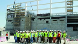 IMIA delegates visit Khalifa International Stadium
