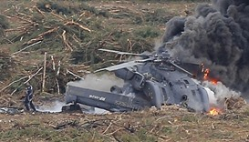 19 dead in Russian helicopter crash in Siberia